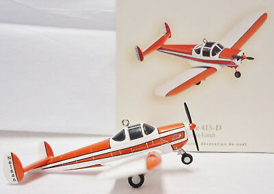 Hallmark 2008 Sky's the Limit #12 Airplane ERCOUPE 415-D QX2851 in damaged box