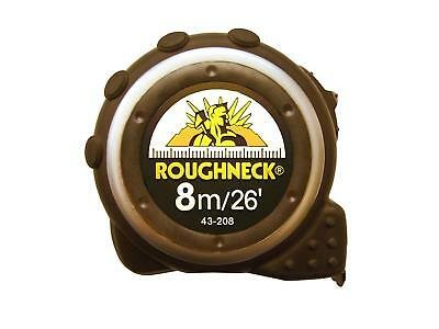 Roughneck 43208 Tape Measure 8m/26ft 25mm Blade