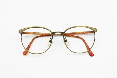 Cavin Klein CK 3065 Made in Japan frame Brass aged effect 90s unisex, chiseled