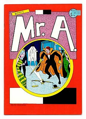 Mr. A #2 / Steve Ditko's 1975 Dalliance with the Underground / FN 6.0
