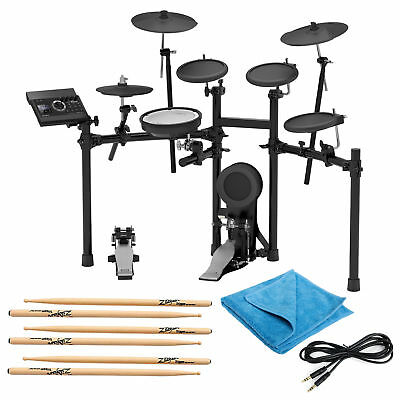 Roland TD-17KL Electronic Drum Set w/3 Pairs of Sticks, Audio Cable & Cloth