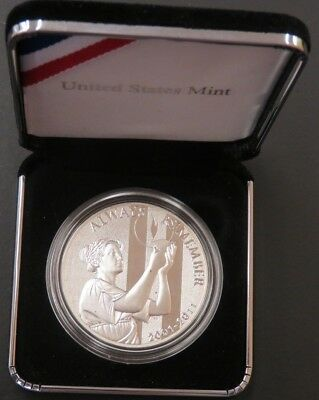"2011-P ""Always Remember"" September 11th United States Mint Silver #216"