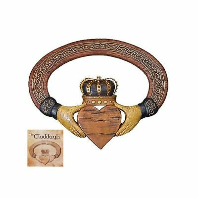 Abbey Press Claddagh Wall Hanging and Card - 54999T Wall Hanging & Card