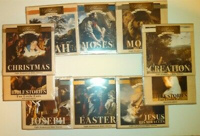 NEW Set 10 Lamplighter Theater You Are There Full Series 18 CD Christian Audio