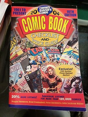Comic Buyer's Guide 2004 Comic Book Checklist and Price Guide