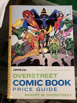 Official Overstreet Comic Book Price Guide - 35th Edition NEW TEEN TITANS