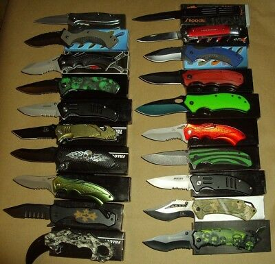Lot of 20 pcs -Spring Assist Folding Knife (lot 987)