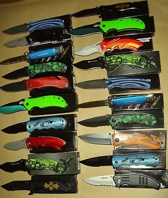 Lot of 20 pcs -Spring Assist Folding Knife (lot 988)