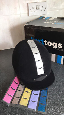 Just Togs JTE Switch child's riding hat Small 52-54cm PAS015 - worn once - boxed