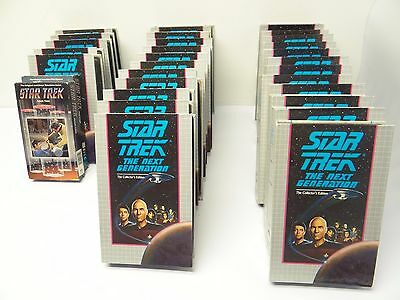 Mixed Lot Star Trek The Next Generation the Collectors Edition VHS Video Tapes