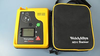Welch Allyn AED 10 Trainer with Case