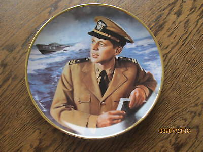"Franklin Mint John F. Kennedy ""Hero of PT109"" 8 1/4"" Collector Plate"