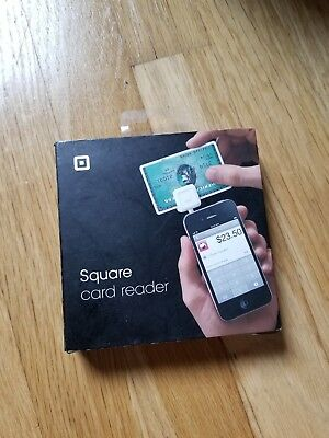 New Square Credit Debit Card Reader for Apple iPhone, iPad and Android White