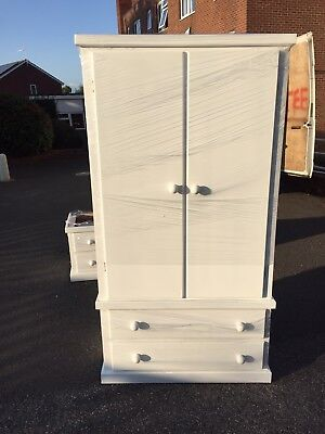 Hand Made Cheshire 2 Drawer Wardrobe **limited Time Only** ( Assembled)