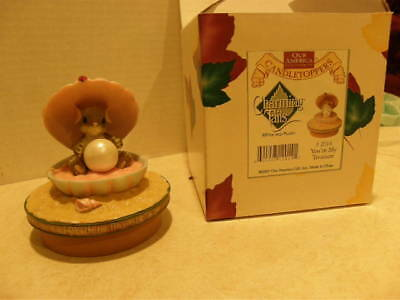 Charming Tails ~ YOU'RE MY TREASURE CANDLE TOPPER    NEW