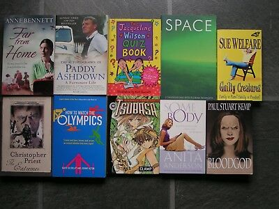 Job lot of 10 Different Paperback Books. New. Crewe CW2