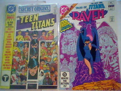Tales of the New Teen Titans 2 (Raven) / Secret Origins (2nd Series) Annual #3