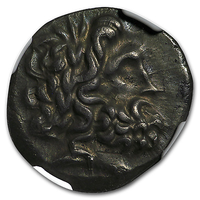 Thessalian League Ag Dbl Victoriatus (2nd-1st cent. BC) XF NGC - SKU#174961