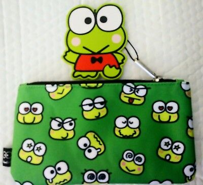 Loungefly Keroppi Pen/Makeup Pouch *NEW*
