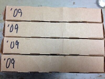 SEALED Lot of (4) 2009 U.S. Uncirculated Sets Brown Box