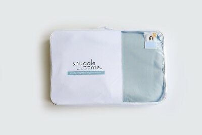 Snuggle Me Organic The Original Co-Sleeping Baby Bed Infant Skye Sky Blue Cover