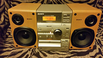 Sony Micro Hi Fi Component System Cmt-Cp11,tape And Cdplayer,radio