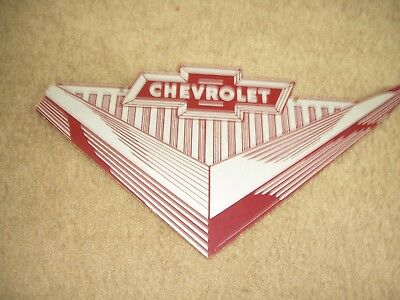 1955 CHEVROLET Showroom Plaque -RARE