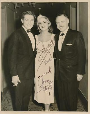 Liberace & George his Brother- Vintage Signed Photo by Both