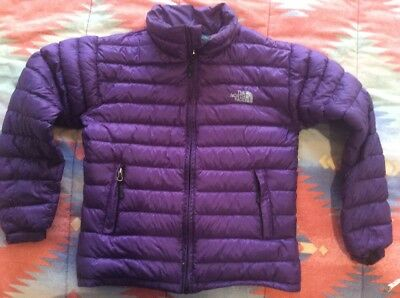 North Face Purple Snow Weather Rain Jacket S
