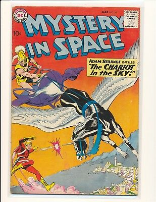 Mystery In Space # 58 - Adam Strange appearance VG/Fine Cond.