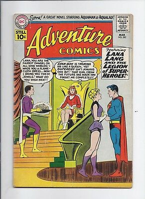 Adventure #282 - Nice Vg- 3.5 - 1St Star Boy - 5Th Legion - Low $19.95 B.i.n. !