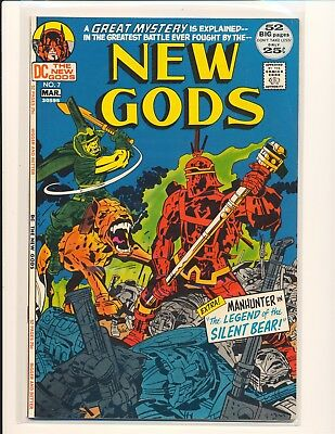 New Gods # 7 - Darkseid appearance & 1st Steppenwolf VF+ Cond.