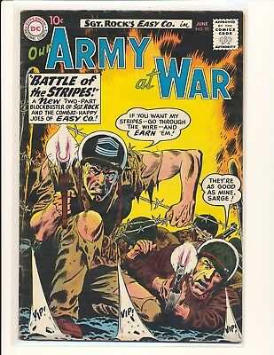 Our Army At War # 95 VG Cond.