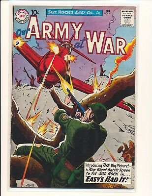 Our Army At War # 103 VG+ Cond.