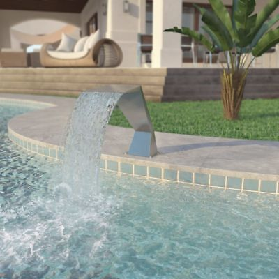 Pool - Fountain Stainless Steel 64 x 30 x 52 cm Silver