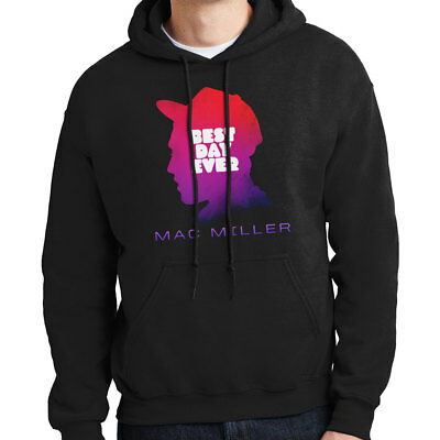 Mac Miller - Best Day Ever | Men's Black Hoodie | Larry Fisherman