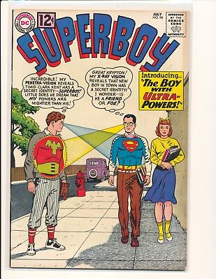 Superboy # 98 - 1st Ultra Boy VG/Fine Cond.