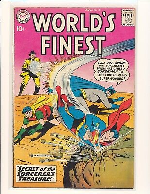 World's Finest Comics # 103 VG Cond.