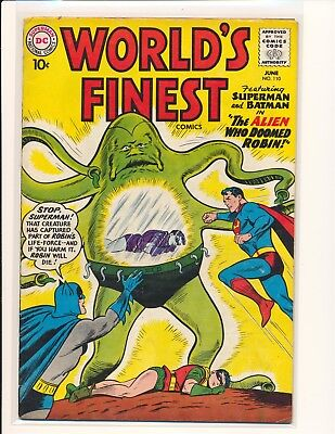 World's Finest Comics # 110 VG/Fine Cond.