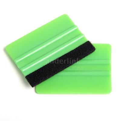 1Pc Wrap Scraper Squeegee Tool with Soft Felt for Car Vehicles Window Vinyl A8M5