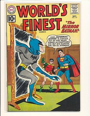 World's Finest Comics # 121 G/VG Cond. bottom staple detached