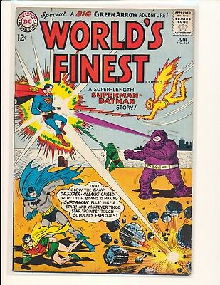 World's Finest Comics # 134 VG/Fine Cond.