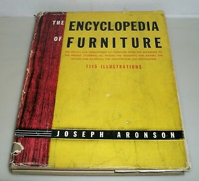 """""""The Encyclopedia of Furniture"""" from 1938,  1115 Illustrations"""
