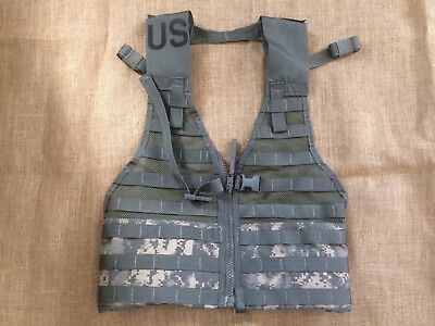 US Military Surplus Molle Tactical Vest - Digital Camo
