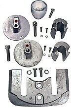 Performance Metals Alum Anode Kit Mercury Bravo III