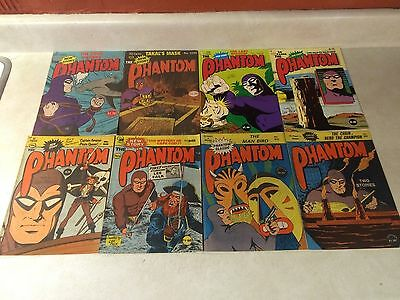 THE PHANTOM - 8 issues, LEE FALK, AUSTRALIAN, AWESOME LOT!!!