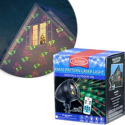 Christmas Projector Moving Xmas Pattern Laser Projection Light Decoration