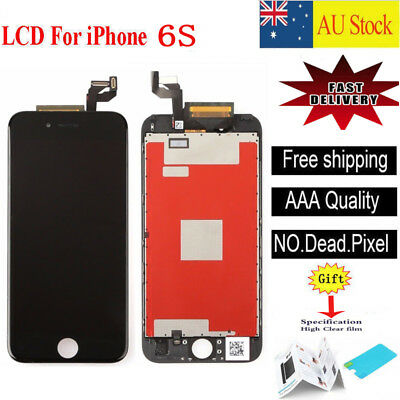 """For iPhone 6S 4.7"""" Touch Screen LCD Display Digitizer Assembly Replacement Black"""