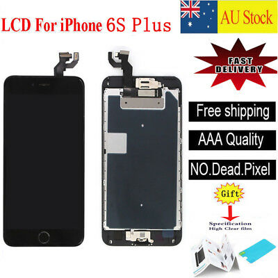 For iPhone 6S Plus  LCD Screen Touch Digitizer Full Assembly replacement  black