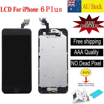 For iPhone 6 Plus  LCD Screen Touch Digitizer Full Assembly replacement black